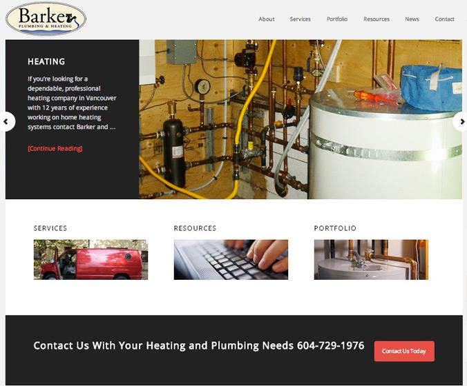 barker-web-site